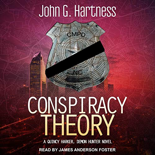Conspiracy Theory Audiobook By John G. Hartness cover art
