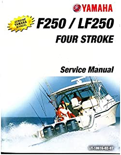 LIT-18616-02-97 2005-2006 Yamaha LF250 F250 Four Stroke Outboard Boat Engine Service Manual
