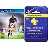 FIFA 16 - Standard Edition + PlayStation Plus - Tarjeta de Suscripción de 12 meses