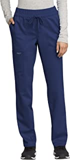 Workwear Revolution Women Scrubs Pant Mid Rise Tapered...