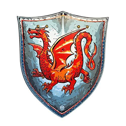 Liontouch 29301LT Bouclier Chevalier Dragon Ambré Mousse Jouet Enfants | Ligne Costumes pour Enfants