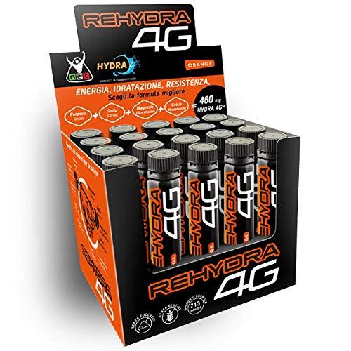 REHYDRA 4G Integratori Endurance (20 fiale) - NET Integratori