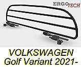 ERGOTECH Trenngitter Hundegitter kompatibel für VOLKSWAGEN Golf Variant RDA65HBG-XS, für Hunde und...