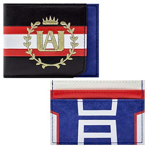 My Hero Academia UA Academie Kuif Met Gym Uniform Portemonnee Handtas Blauw