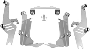 Memphis Shades Trigger-Lock Mounting Kit (Aluminum/Sportshields) Compatible with 98-04 Kawasaki VN1500E