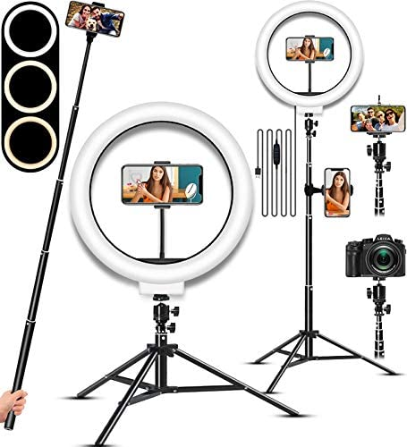 Top 10 Best ring light with mirror Reviews
