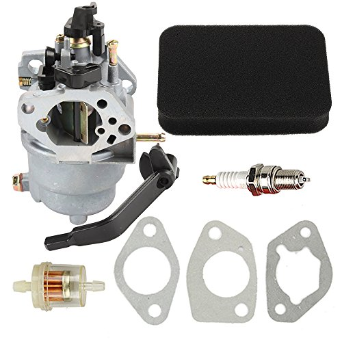 Buckbock Carburetor with Air Fuel Filter for Generac GP5000 GP5500 GP6500 GP6500E GP7500E 389cc 8125W 0J58620157 Jingke Huayi Kinzo Ruixing 13HP 14HP 15HP 16HP 188F 190F Portable Generator