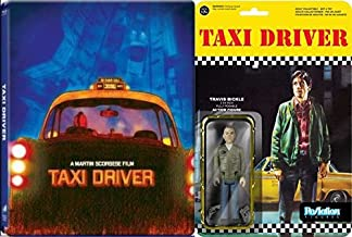 Pop Art Steelbook and Action Figure Bundle Taxi Driver Blu-ray Martin Scorsese Classic Travis Bickle Set
