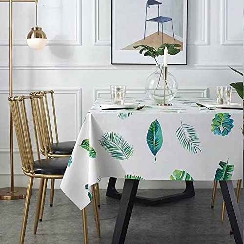 sans_marque Mantel, para mesa rectangular, mantel sólido, para decoración de mesa de cocina80*120cm