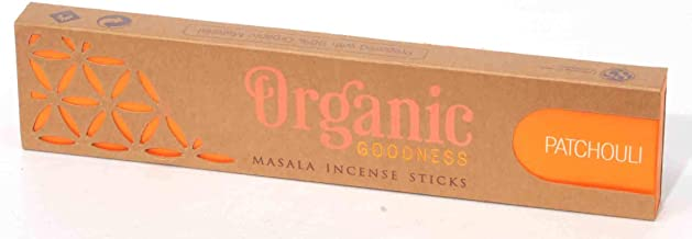 Song of India Organic Masala Incense - Patchouli 15g Box/12