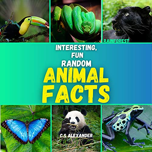Interesting, Fun Random Animal Facts cover art