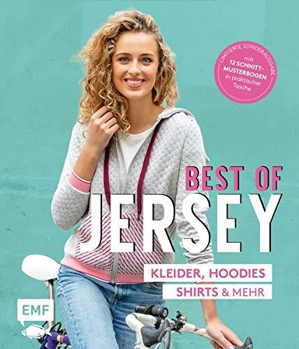 Best of Jersey – Kleider, Hoodies, Shirts und mehr – von Größe 34–44: Limitierte Sonderausgabe mit 12 Schnittmusterbogen in praktischer Tasche