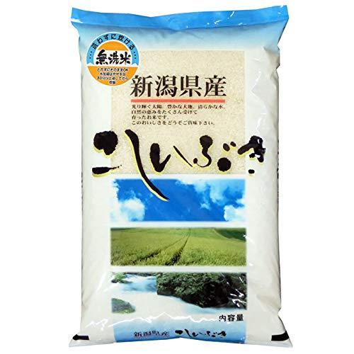 【精米】新潟県産 無洗米 白米 北陸 越後の米 こしいぶき 5kg(長期保存包装)x4袋 令和2年産