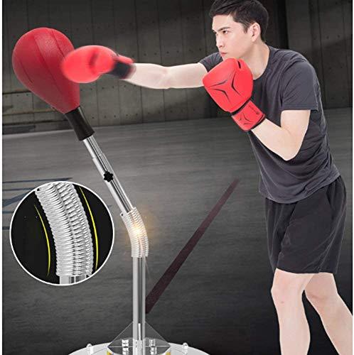 Stand Bokszakken - Boxing tas met standaard Hoogte - Sports Boksen Ponsen set met hoogte verstelbaar -Verstelbare Hoogte voor Stress Relief Fitness,A