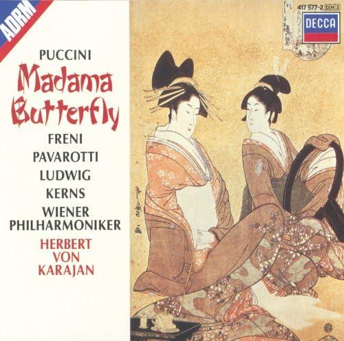 Christa Ludwig, Wiener Philharmoniker, Luciano Pavarotti, Herbert von Karajan, Mirella Freni, Giacomo Puccini & Giacomo Spiardo