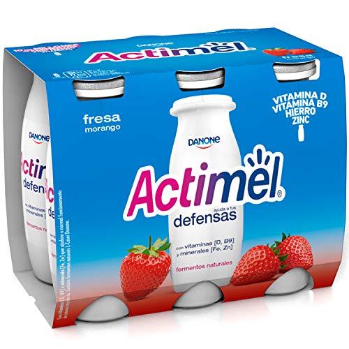 Actimel Fresa 6x100 g