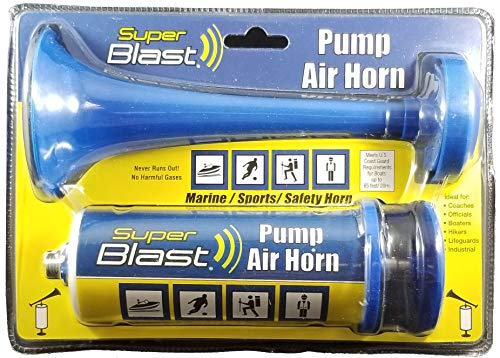 Super Blast 7218 Pump Air Horn (color may vary)