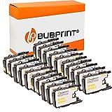 20 Bubprint Cartuchos de Tinta Compatible para Brother LC-1220 LC-1240 para DCP-J525W DCP-J725DW DCP-J925DW MFC-J430W MFC-J5910DW MFC-J625DW MFC-J6510DW MFC-J6710DW MFC-J6910DW MFC-J825DW Multipack
