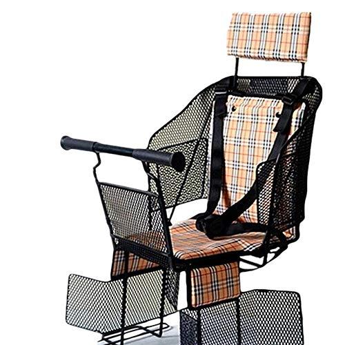 YRDDJQ Unisex Kinderfahrradsitz elektrischer Fahrradstuhl Hinterrad Dame Sitz Baby Baby Mountainbike Sitz, A