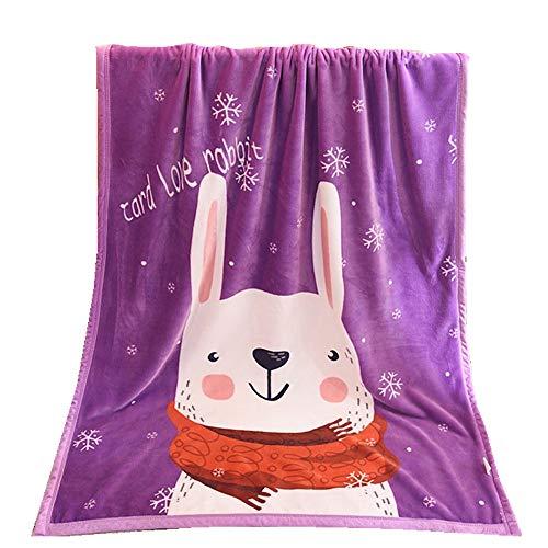 Stillshine Baby deken, zeer zachte deken flanellen deken, wieg/kinderwagen zacht bed, pasgeboren geschenk, sofa deken kinderdeken deken deken lakens 100 x140 cm