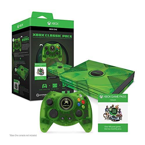 ハイパーキン XBOX ONE/PC対象 有線コントローラー デューク クリアグリーン 限定パック / Hyperkin Duke Clear Green Wired Controller for Xbox One/ Windows 10 PC Limited Pack