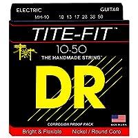 DR エレキ弦 TITE-FIT ニッケルメッキ .010-.050 MH-10