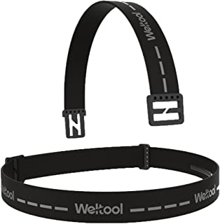 "Weltool Durable Elastic Headband Replacement Elastic Strap for Most Black Diamond Petzl Princeton Tec Energizer Pelican Silva Fenix Headlamps 1""Width Comfortable Headlamp Band"
