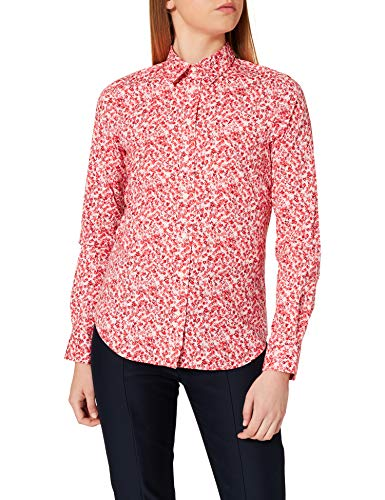 GANT Damen D1. Micro Bouquet Stretch BC Shirt Bluse, California PINK, 36