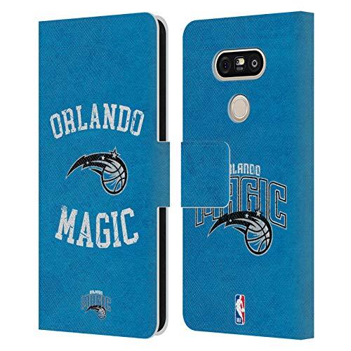 Head Case Designs Ufficiale NBA Aspetto Sdrucito 2019/20 Orlando Magic Cover in Pelle a Portafoglio Compatibile con LG G5 SE / G5 Lite
