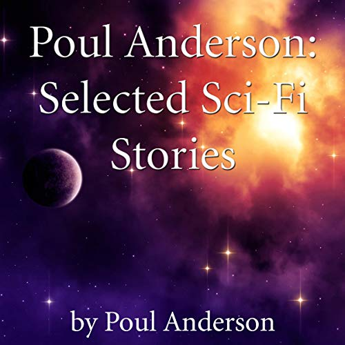 Poul Anderson audiobook cover art