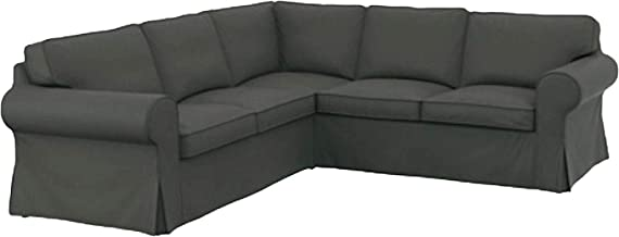 The Thick Cotton IKEA Ektorp 2 2 Sofa Cover Replacement is Custom Made for IKEA Ektorp Corner Or Sectional Sofa Slipcover