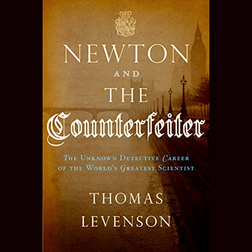 Newton and the Counterfeiter audiobook cover art