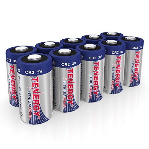 Tenergy CR2 3V Lithium Battery Non-Rechargeable PTC...