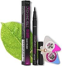 Eyeliner- Best Cruelty Free Waterproof Liquid Eye liner Pen –NON Toxic Formula - ALL DAY WEAR - Gel Felt Tip High Pigment – Winged, Cat Eye, Smudge, Tear Proof Makeup– No Stamp, No Pencil Sharpener