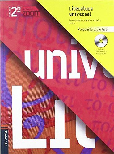 Literatura Universal 2º Bachillerato (Propuesta Didactica) (Zoom) de Mª José Gonzalez-Serna Sanchez (10 jun 2009) Tapa blanda