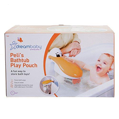 Dreambaby F684 Pelikan Badespielzeugsammler Spielzeugnetz Bad-Organizer Badewannennetz