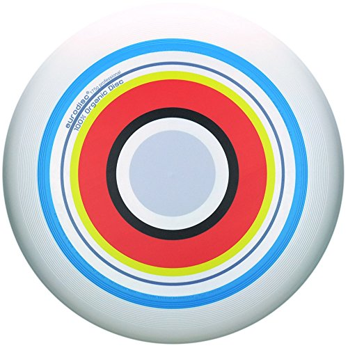 Eurodisc 175g 100% ORGANIC Ultimate Frisbee Disc design SUMMER special scratch resistant full color print