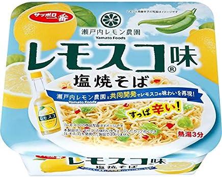サッポロ一番 レモスコ味 塩焼そば 99g×12個入り (1ケース)