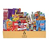 Everyday Care Package (50 Count + 1 Bonus Snack) Snack Box - An Assortment of Chips, Crackers,...