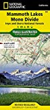 Mammoth Lakes, Mono Divide [Inyo and Sierra National Forests] (National Geographic Trails Illustrated Map, 809)