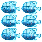 Humidifier fish, Universal Humidifier Tank Cleaner Fish Protects Humidifier Against Odor,Humidifier filters fish Compatible with Most Warm & Cool Mist Humidifiers,Dehumidifier,Fish Tank. (Blue(6PACK))