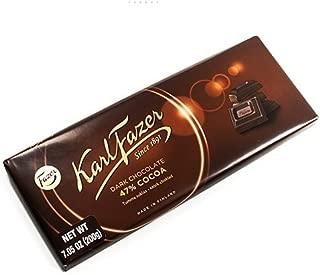 Karl Fazer Dark Chocolate Bar - 200g (7.05 ounce)