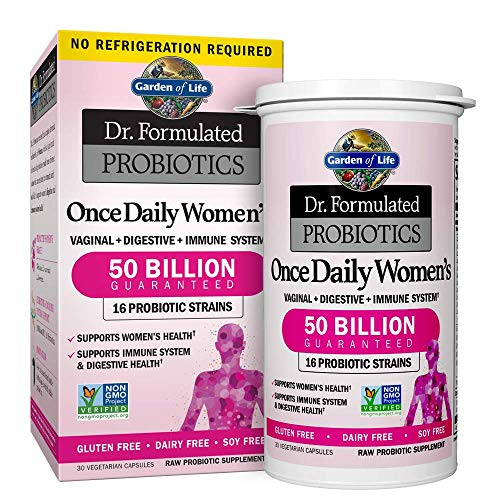 Garden of Life Probiotic Supplement Capsules for Women, Dr. Formulated...