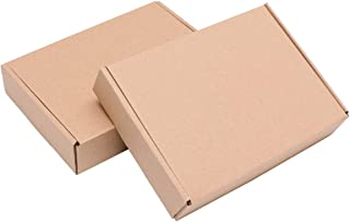 NUOBESTY 25pcs Corrugated Mailer Cardboard Shipping Boxes 200x140x40cm Small Packing Moving Boxes Case for Cloth Pants Sma...