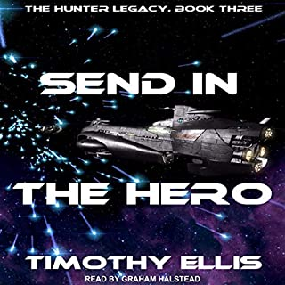 Send in the Hero audiobook cover art