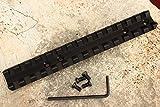 Kidd Scope Base for a 10/22 or Ruger 10/22-black Low