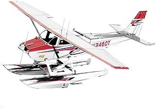 Fascinations Metal Earth Cessna 182 Floatplane 3D Metal Model Kit