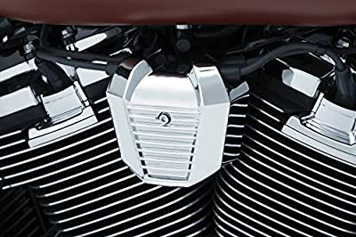 Kuryakyn 6466 Motorcycle Accent Accessory: Precision Coil Cover for 2018-19 Harley-Davidson Softail Motorcycles, Chrome from Kuryakyn