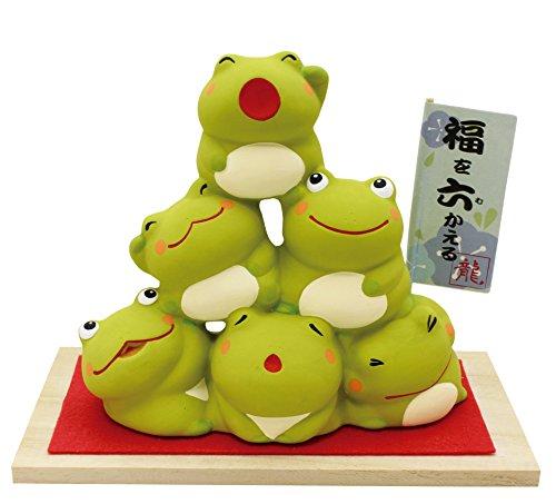 開運幸福団子【福を六かえる】六カエル