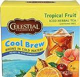 Celestial Seasonings Tea Iced Tropical Fruit Herbal Bag, 40 ct